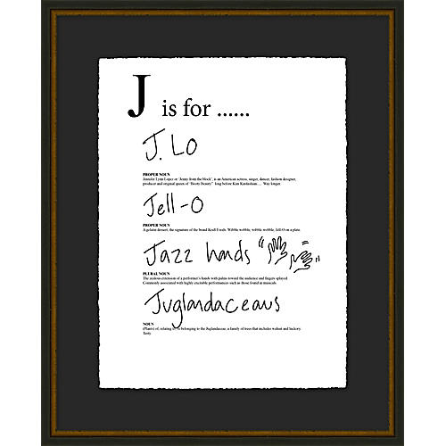 Jo Sampson, J is For
