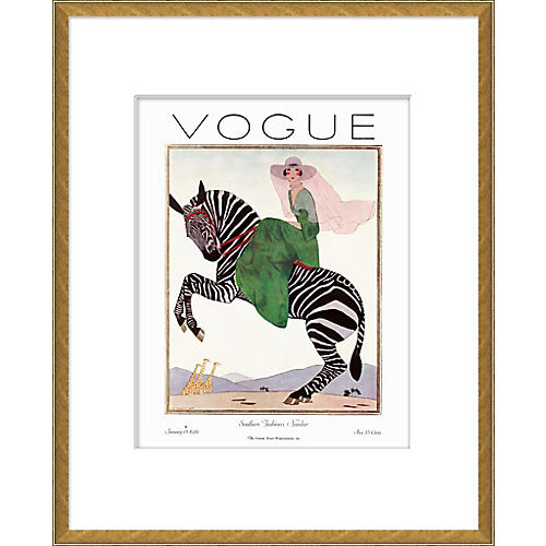 Vogue Magazine Cover, Southern Fashions