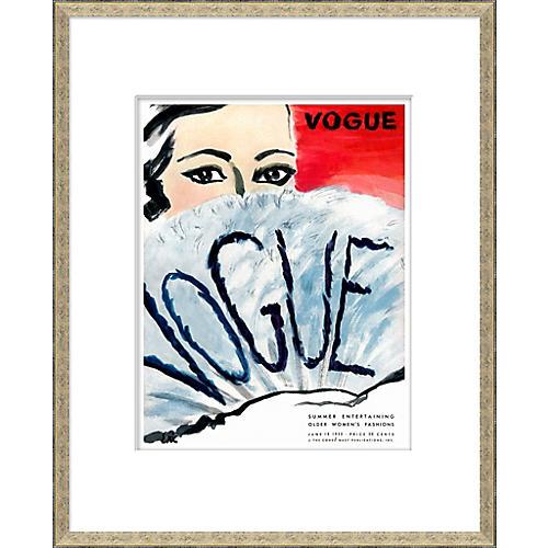 Vogue Magazine Cover, Summer Entertaining