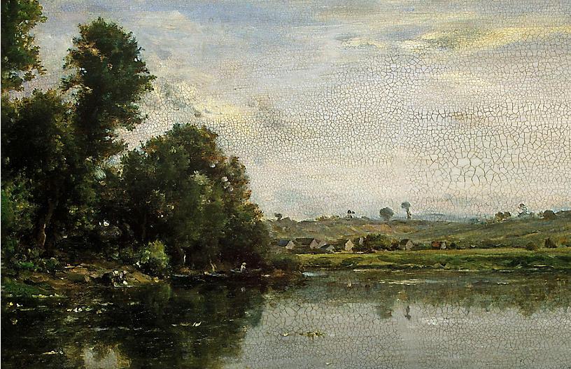Lauren Liess, By the Creek I