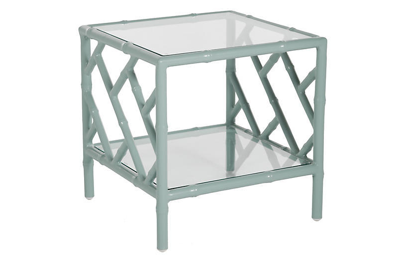 Kit Side Table, Celadon