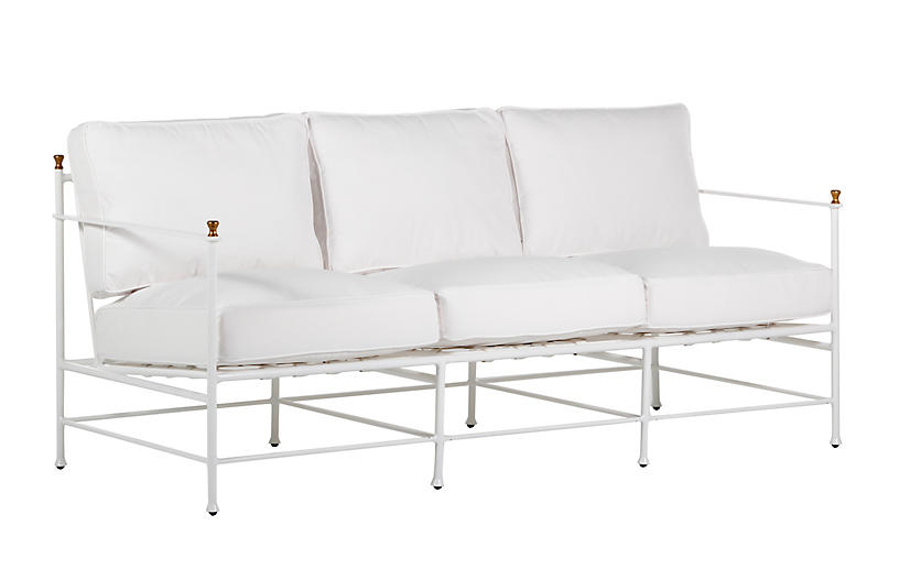 Frances Sofa, White