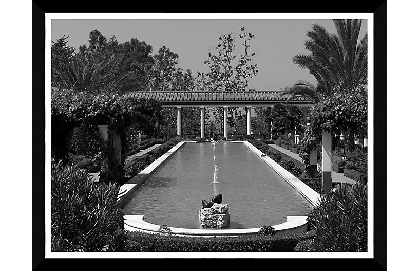 The Pool and Portico