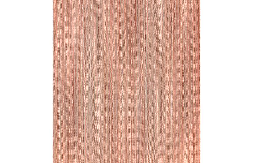 Aria Strie Wallpaper, Coral