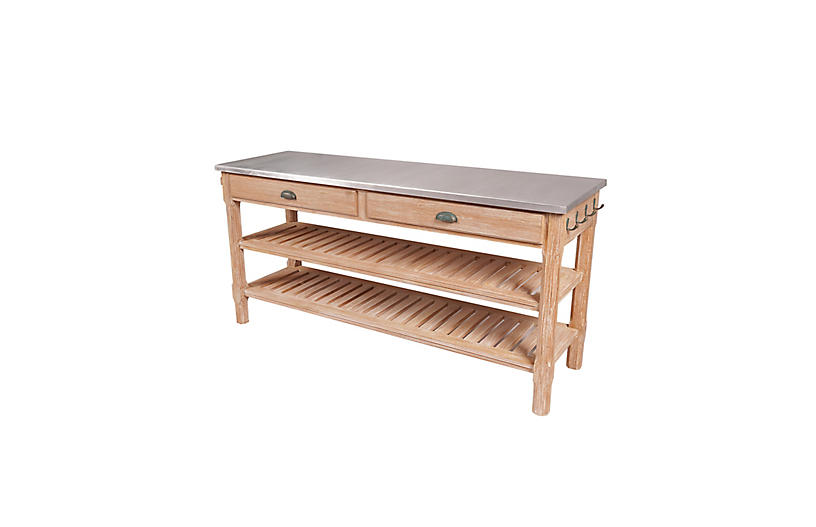 Orchard Outdoor Buffet Table, Natural