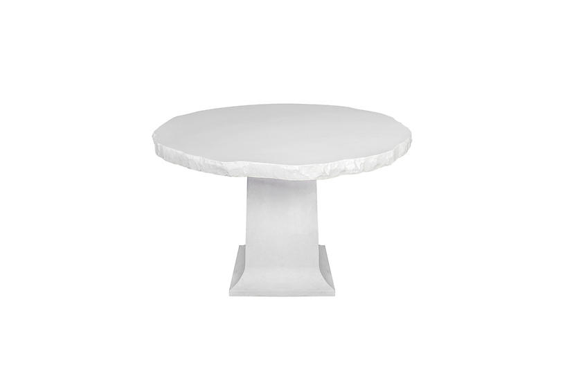 Monolith Stone Outdoor Table, Dover