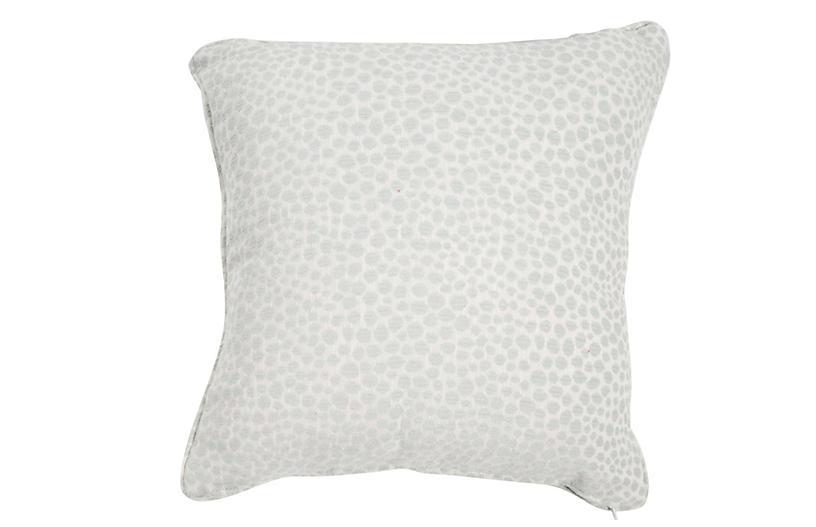 Kit Outdoor Pillow, Cheetah Mist