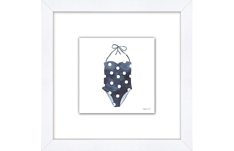 Sara Fitz, Polka Dot Swimsuit
