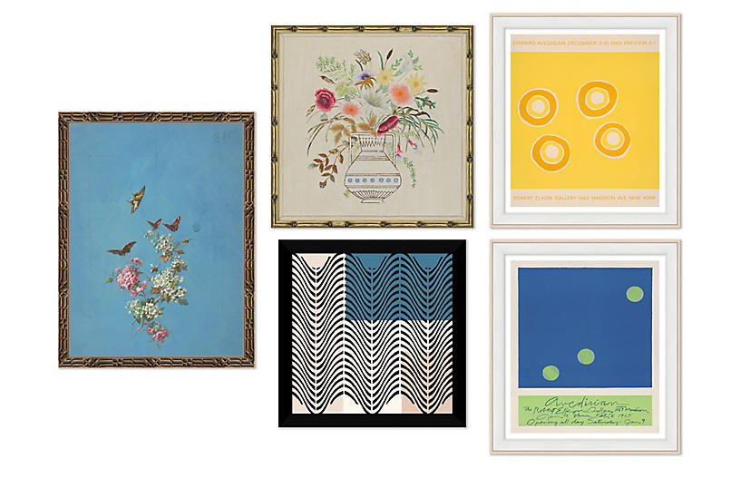 The Eclectic, Gallery Set of 5