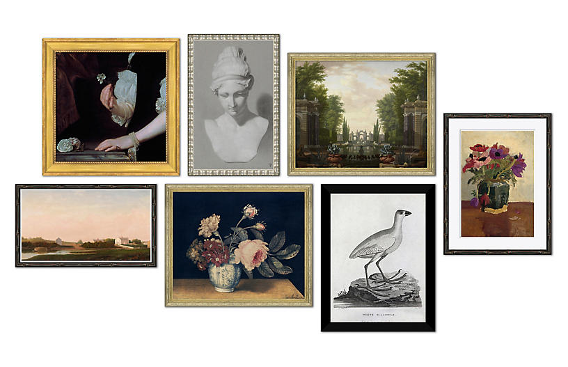 The New Traditionalist, Gallery Set of 7