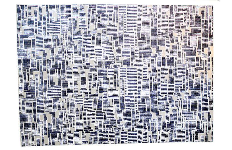 12'x15' Asha Rug, Royal Blue