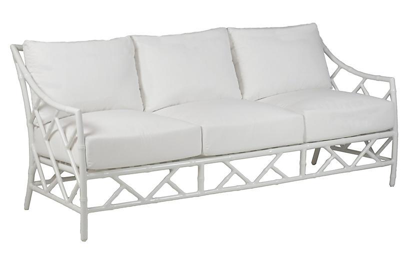 Kit Sofa Replacement Cushion, White
