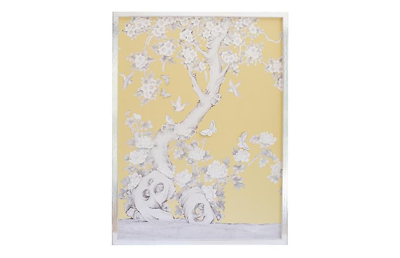 Ariel Okin x Dawn Wolfe, Yellow Tree