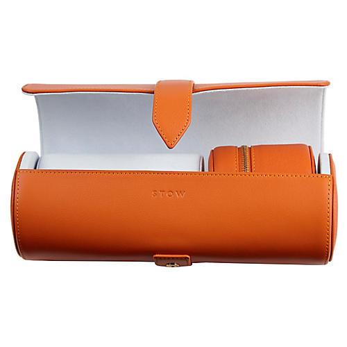 Sanderson Watch Roll Gift Set, Orange