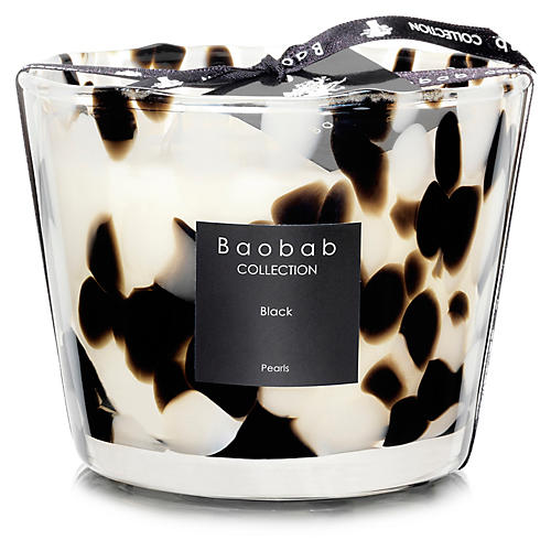 Black Pearls Candle, Black Rose & Ginger