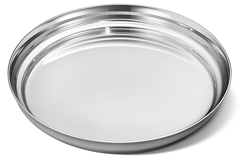 Manhattan Wine Coaster, Silver