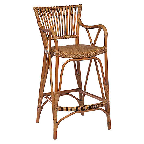 Blues Barstool, Antique