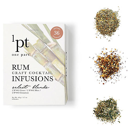 Rum Cocktail Infusions, Natural