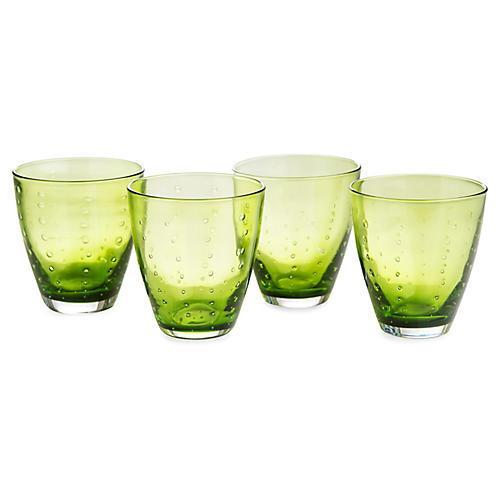 S/4 Droplet DOF Glasses, Green