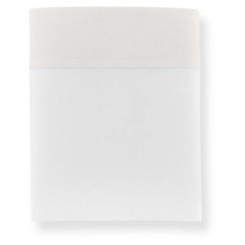 Mandalay Cuff Flat Sheet, Pearl