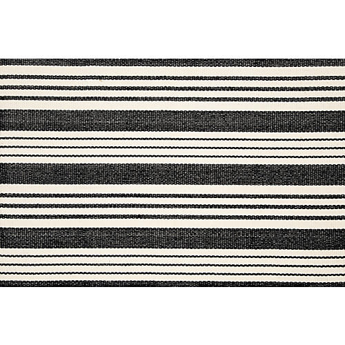 Birmingham Flat-Weave Rug, Black