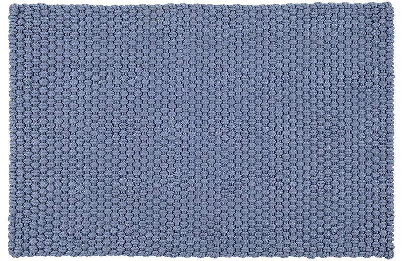 Rope Indoor/Outdoor Rug, Denim