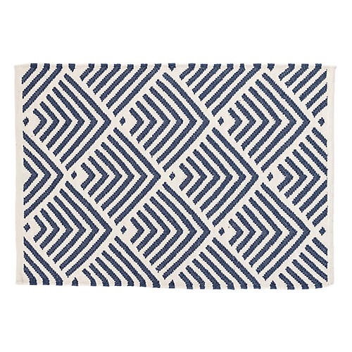 Cleo Indoor/Outdoor Rug, Navy