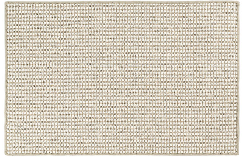 Pixel Sisal Rug, Wheat