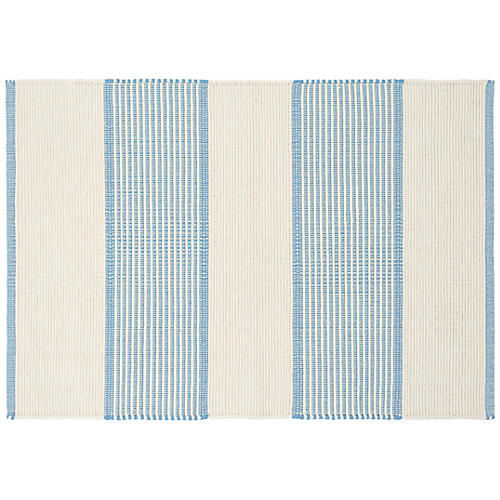 La Mirada Handwoven Rug, Asiatic Blue