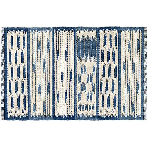Big Sur Handwoven Rug, Blue