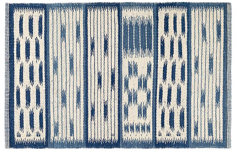 Big Sur Handwoven Rug, Blue