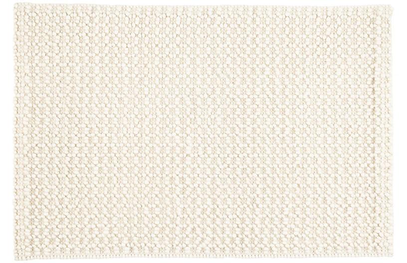 Hooper Handwoven Rug, Ivory