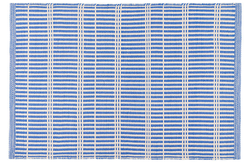 Marlo Indoor/Outdoor Rug, French Blue