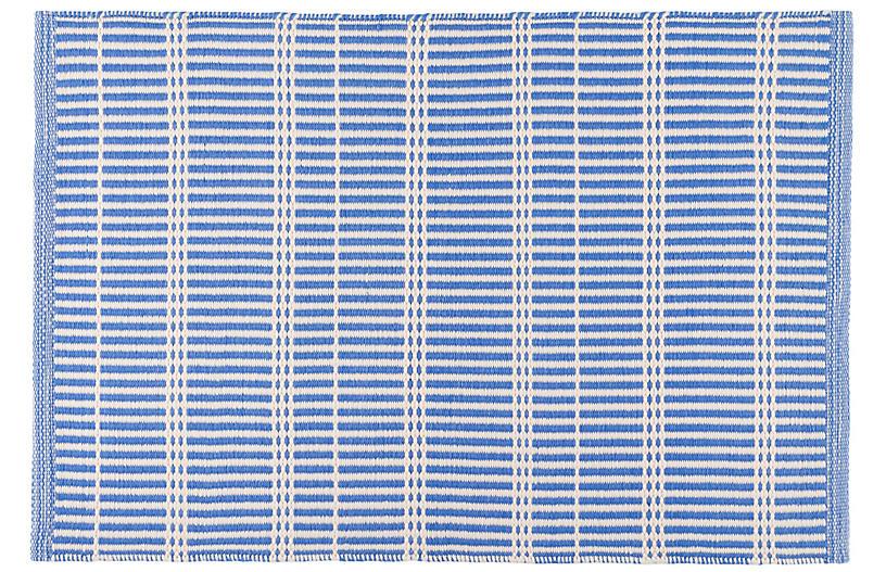 Marlo Indoor/Outdoor Rug, French Blue