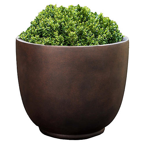 Danilo Outdoor Planter, Rust