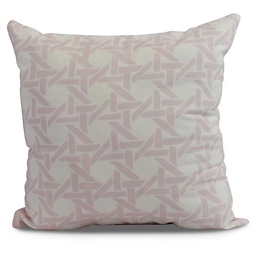 Sugarcane Pillow, Blush