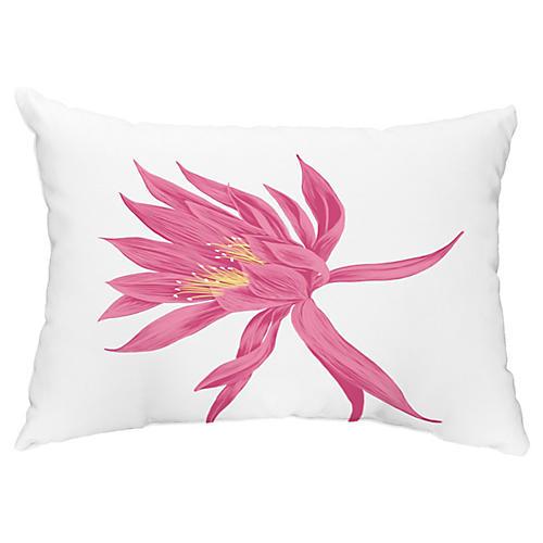 Bloom 14x20 Lumbar Pillow, Pink
