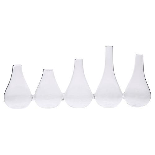 """13"""" Botany Vase, Clear"""