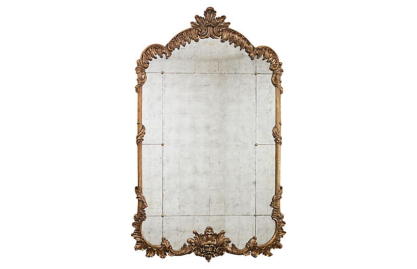 Hyde Mirror, Gold Leaf