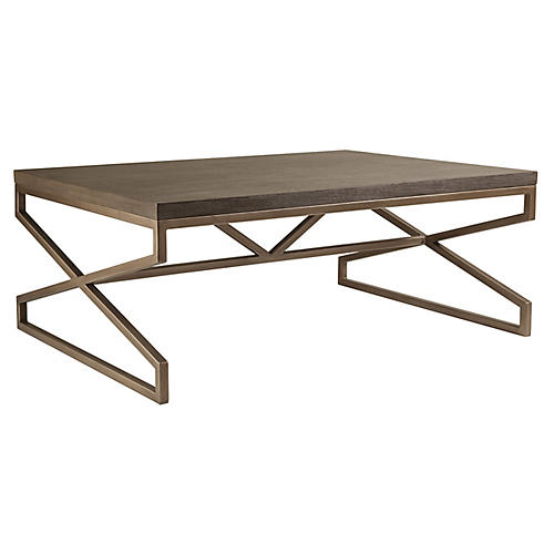 Edict Coffee Table, Grigio Warm Gray
