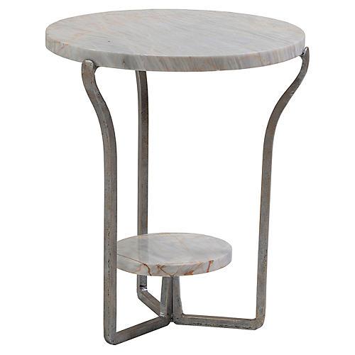 Cameo Side Table, Onyx