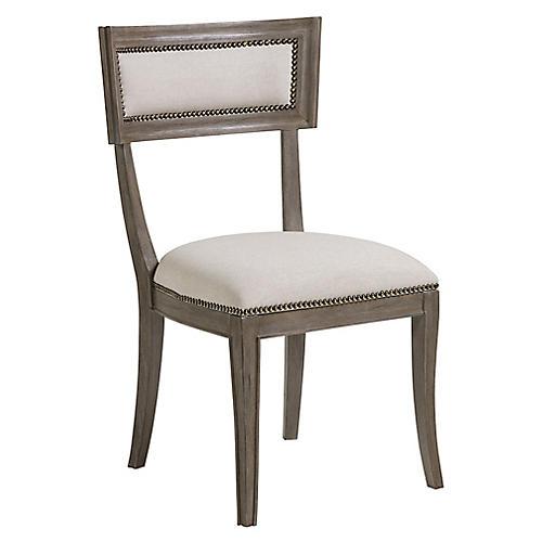 Apertif Side Chair, Grigio Warm Gray