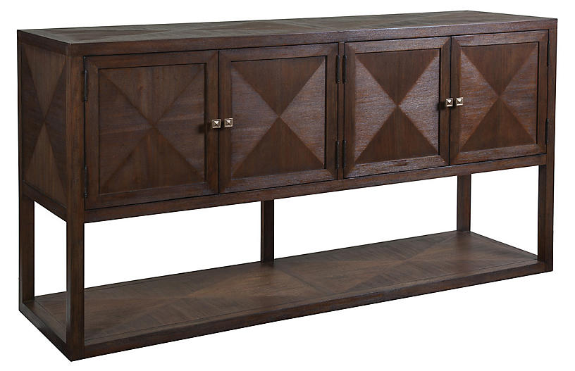Ringo Sideboard, Marrone Brown