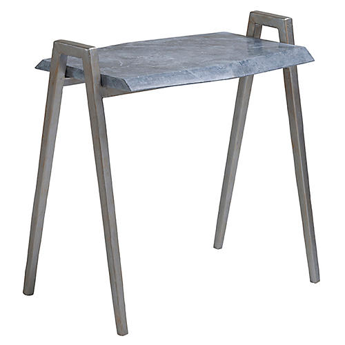 Leo Side Table, Gray
