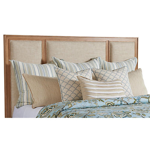 Crystal Cove Headboard, Sand