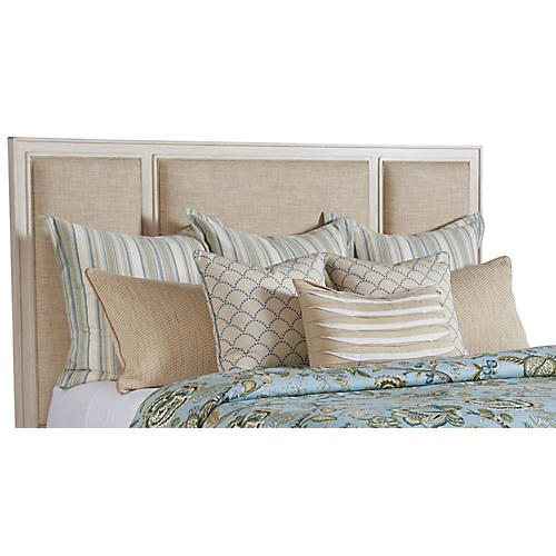 Crystal Cove Headboard, Sailcloth