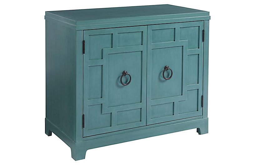 Collins Cabinet, Sea Glass