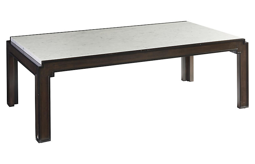 Doheny Coffee Table, Wilshire Brown
