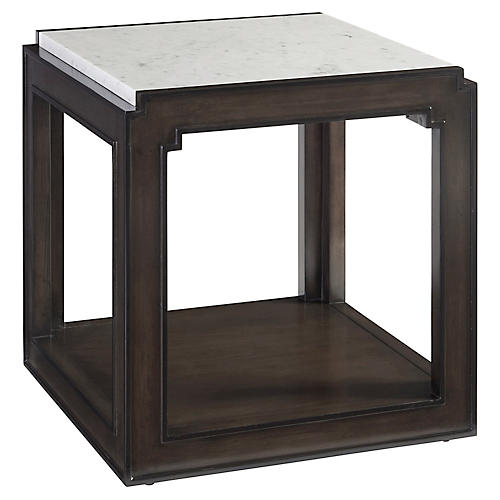 Doheny Side Table, Wilshire Brown