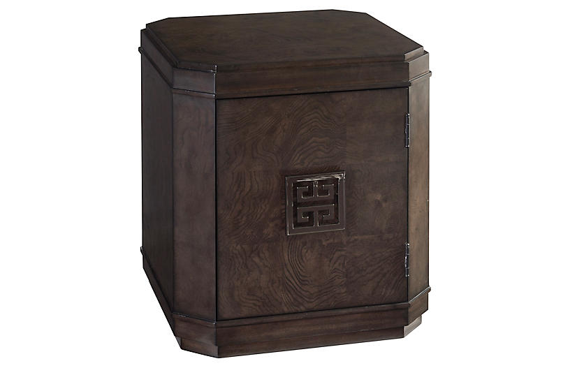 Larchmont Side Table, Wilshire Brown